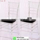 Quality factory supply transparent clear resin acrylic acrylic chiavari chair for wedding item: R1#