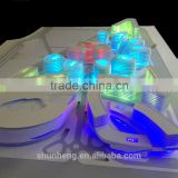 With LED lights City Museum Miniature Architectural building model
