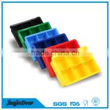 Favorites compare 6(six)-square soft silicone ice cube tray,silicone ice cream mold,silicone ice pop mold