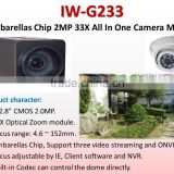 IW-G233 COMS 33X Optical Zoom All In One Box Camera Module