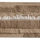 Polyurethane imitation stone wall panel,insulated solar panel,light weight ledgestone wall paper, faux stone