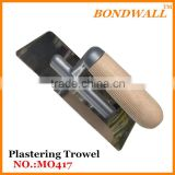Plastering Trowel rubber handle painting tools Bricklaying trowel woodle handle