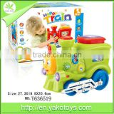 Happy battery operated train toy,educational train,with EN71/62115