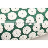 nail pillow with flower spike/acupressure mat and pillow/shakti acupressure mat