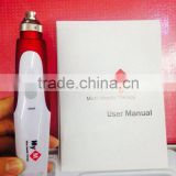 HOT!!! Different Micro Needle skin vibrating derma roller Microneedle Derma Roller with CE