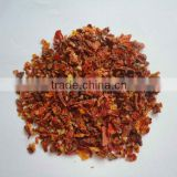 Dehydrated dried tomato flakes slice