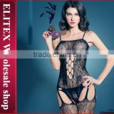 Wholesale Sexy Mature Woman Lingerie Hot Fashion Seductive Body Stocking