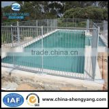 Manufacture supply hot galvanized metal tubular holding pool safty fencing/swimming pool fence for sale