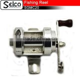 Gun metal color Aluminium spool fly fishing reel, made in China