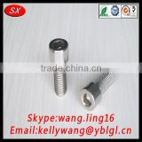 China customized OEM Stainless steel hex head bolt/socket cap bolts from Chinese manufacture