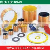 Yellow Black Blue Red Brass Color Bronze Steel Back LXB Dry Slide Bearing PVB POM Thrust Washer PAP P20 sf2 DX oilless bushing
