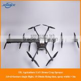 new arrival Terrain Follow type Agricultural Spraying Drone, uav crop sprayer drone with auto flight controller