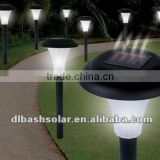 Solar Powered LED Spot Lights Outdoor Garden Cube Post Lawn Lamp