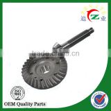 Diff gear crown wheel and pinion for tricycle rear alxe