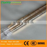 Wood drying short wave quartz element infrared heater tube 6000W