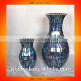 Table Decoration New Design Mosaic Bulk Glass Vases