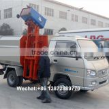 forland 1.5 ton mini self-loading garbage collection vehicle truck