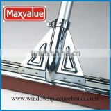 rubber Steel metal frame EVA floor squeegee rubber floor squeegee nature rubber floor squeegee