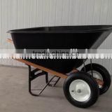 Agricultural Equipment drump Plastic tray Wheel barrow WH9600