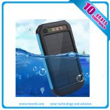 Solar mobile charger with torch,power display,SOS function