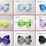 Boutique Hair Bows Girls Baby Alligator Clip Grosgrain Ribbon Headbands Popular children tire/hair clip/hair bowknot