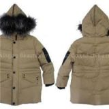 Children's Slim Fit Warm Kids Boys Girls Walking Padded Padding Jacket Waxed Organic Cotton Corduroy Jackets