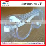 en 166 standard of safety goggles clear