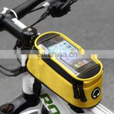 "Waterproof 5.5"" Bike Bicycle Cycling Frame Pannier Front Tube Phone Bag"