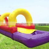 Line Inflatable Splash Slide