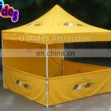 New Design Yellow Color Advertising Folding Tent