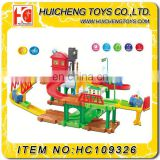 Alibaba wholesale plastic tracks Electronic toy car garage for sale