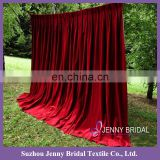 BCK125 velvet curtain fabric american fancy curtain designs velvet backdrop