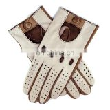 mens leather driving gloves/long driving gloves/fancy gloves