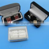 multiple customized cuff link with gift box packing