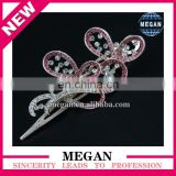 New Model Rhinestone Flower Hair Clips Crystal Hair Accessory for Women