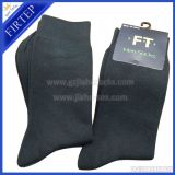 Black socks men's long socks one colour