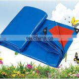HDPE woven laminated PE tarpaulin waterproof tent cover with eyelet and triangle corners