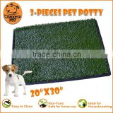 (1010) pet cleaning product pet relief system eco plastic grass pet patch pad