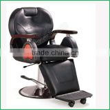 Professional Hydraulic Pump Durable Strong Seat Movable Footrest Barber Chair