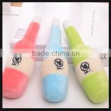 promotion toys plush toy beer bottle toy wholesale