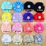 2.75'' Rhinestone Lace Flower Baby Girl Hair Flowers Ballerina accessories baby infant hair flowers for girl