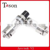 TOSON sub ohm tank Ares v2 atomizer in stock now Ares v2 Tank wholesale 100% original