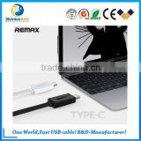 Wholesale Remax Steel Mesh TPE Copper Core 2.1A 2 in 1 USB Data Cable for android and iphone