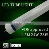 High lumen, high quality high power most powerful led lighting manufacaturer Gielight best price led tube light t8 2ft 4ft 5ft 8