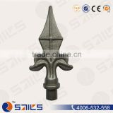 ornamental wrought iron fence made in china