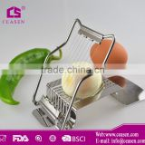 Promotinal high quality egg slicer,egg cutter, plastic egg slicer, stainless steel egg slicer, in FDA, LFGB & Food grade