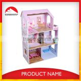 dit wooden baby doll house ,doll house for barbie