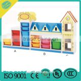 kindergarten wood cabinettoy display cabinet Children's toy cabinet