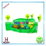 New design kids bath toy storage bag organizer with 4 strong suction cups                                                                         Quality Choice