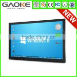 "55'' 65"" 70'' 84'' LED LCD 4k or 1080 p monitor full hd lcd touch display touch screen monitor with good touch panel prices"